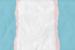 Strukturierter zerrissener Papierhintergrund Stockfoto