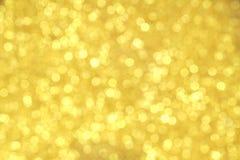 Strukturiertes abstraktes Hintergrund Funkelngold Lizenzfreie Stockfotos