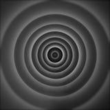 Strukturiertes abstraktes Muster des Radialtunnels Stockbild