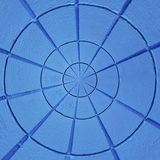 Strukturiertes abstraktes radialmuster Stockfotografie