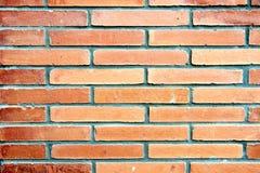 Strukturiertes geometrisches Muster einer Backsteinmauer Lizenzfreies Stockbild