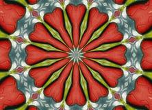 Strukturiertes Kaleidoskop Stockbild