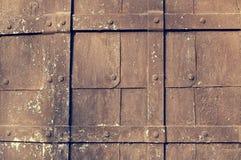 Strukturiertes Metallrostiger beschmutzter Hintergrund Lizenzfreies Stockfoto