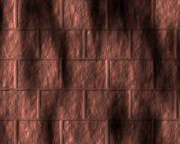 Strukturiertes Muster der kupfernen metallischen Wand Stockfotos