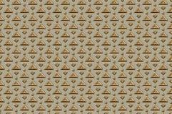Strukturiertes Muster des Schmucks Metall Stockbild