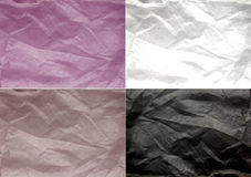 Strukturiertes Papier der verschiedenen Farben Textil Lizenzfreies Stockbild