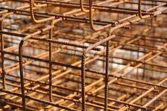 struktury żelazo Zdjęcia Royalty Free