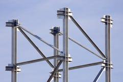 struktury stali Zdjęcie Royalty Free