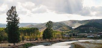 Strumaflod i Bulgarien royaltyfri fotografi