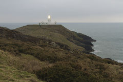 Strumble Head Lighthouse Stock Image