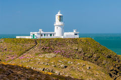 Strumble Head Lighthouse Wales Royalty Free Stock Photos