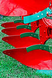 strumentazione agricola Dettaglio 190 Fotografie Stock