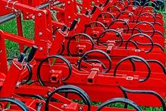 strumentazione agricola Dettaglio 192 Fotografia Stock Libera da Diritti