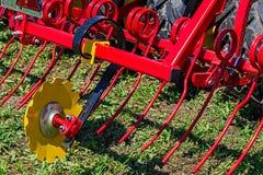 strumentazione agricola Dettaglio 211 Immagini Stock Libere da Diritti