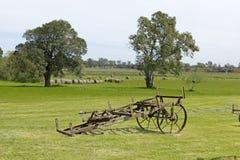 Strumentazione antica di azienda agricola Immagini Stock