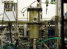 Strumentazione biochimica Fotografia Stock