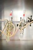 Strumentazione chimica 04 fotografia stock