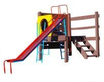 Strumentazione del campo da gioco per bambini Immagini Stock Libere da Diritti