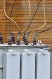 Strumentazione del convertitore elettrico Fotografia Stock Libera da Diritti