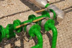 Strumentazione del gas fotografie stock libere da diritti
