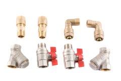 Strumentazione dell'idraulico. Fotografia Stock Libera da Diritti