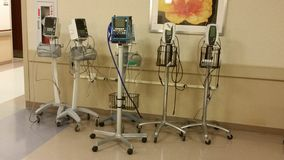 Strumentazione dell'ospedale Immagine Stock