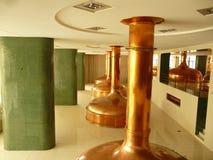 Strumentazione della fabbrica di birra Immagine Stock Libera da Diritti
