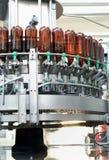Strumentazione della fabbrica di birra Fotografia Stock