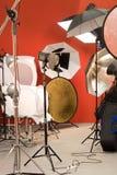 Strumentazione della foto Fotografia Stock