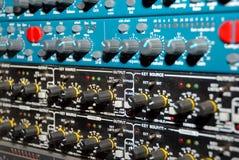 Strumentazione della registrazione del suono (strumentazione di media) Immagine Stock Libera da Diritti