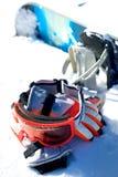 strumentazione dello snowboard immagini stock