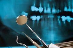 Strumentazione dentale Fotografia Stock