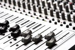 Strumentazione di audio registrazione Immagini Stock Libere da Diritti