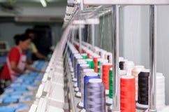 Strumentazione di cucito di industria Immagine Stock