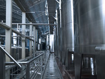 Strumentazione di fabbricazione di vino Fotografia Stock Libera da Diritti