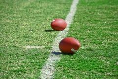 Strumentazione di gioco del calcio Fotografie Stock Libere da Diritti