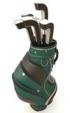 Strumentazione di golf isolata su bianco Immagini Stock Libere da Diritti