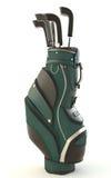 Strumentazione di golf isolata su bianco Immagine Stock Libera da Diritti
