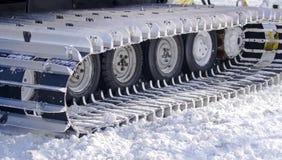 strumentazione di Neve-schiarimento Fotografia Stock