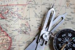 Attrezzatura di navigazione Immagine Stock
