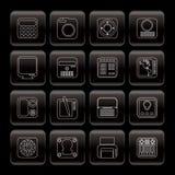Strumentazione di tecnologia e alta tecnologia Fotografie Stock