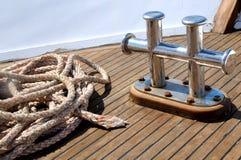 Strumentazione di un yacht Fotografie Stock Libere da Diritti