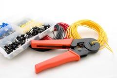 Strumentazione elettrica Fotografia Stock