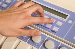 Strumentazione elettronica di massaggio dell'ente professionale Immagini Stock Libere da Diritti