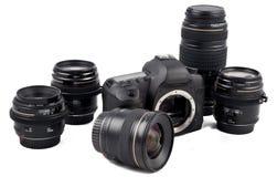 Strumentazione fotografica fotografie stock libere da diritti