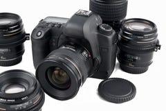 Strumentazione fotografica fotografia stock