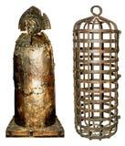 Strumentazione medioevale di tortura Fotografia Stock