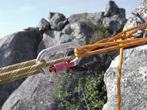 Strumentazione per climbin Immagini Stock