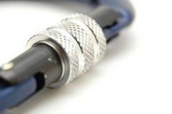 Strumentazione rampicante - sistema #2 della serratura di Carabiners immagini stock libere da diritti