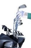 Strumentazioni di golf Fotografie Stock